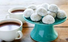 Mexican Tea Cookies. Cyndi made these for my bridal shower. Fit the snowflake and snowball theme.
