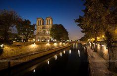 "Morning Calm "" Notre Dame de Paris "" by Doll  Photography"