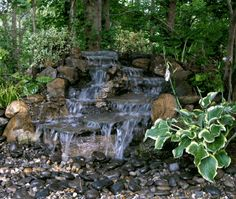 Why You Should Invest In Simple Water Features For Your Home Garden – Pool Landscape Ideas Backyard Water Feature, Ponds Backyard, Garden Pool, Backyard Ideas, Backyard Waterfalls, Garden Ideas, Landscaping With Rocks, Backyard Landscaping, Landscaping Ideas