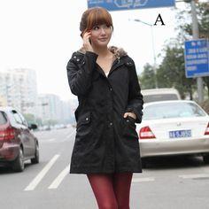 2017 New women winter jackets cotton collar hoodies fashion coats plus velvet warm Korean version casual women jackets