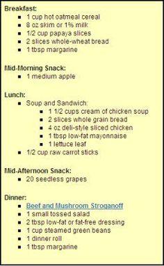 Create the Heartburn-Safe Diet: Creating heartburn-friendly meals - Daily Menus