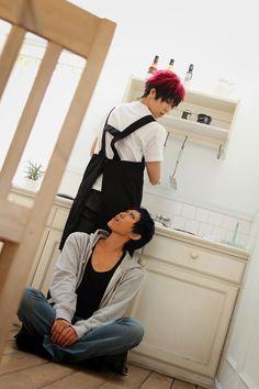Kuroko no Basket Cosplay (Taiga Kagami and Daiki Aomine)