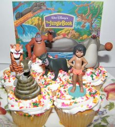 Disney Jungle Book Cake Toppers / Cupcake Party Favor Decorations Set of 6 with Mowgli, Bagheera, Baloo, King Louie the Orangutan and More!, http://www.amazon.com/dp/B00HXX07GO/ref=cm_sw_r_pi_awdm_1wSytb1NZ80DV