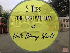 For most travelers, your arrival time to Walt Disney World will not be first thing in the morning. Depending on where you are traveling from, you may arrive around lunch, or sometimes in the afternoon. I know you may be ready to start your vacation and ride some rides, but hang tight! If you are …