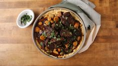 Chipotle-Coffee Pot Roast | Better Homes & Gardens Creamy Polenta, How To Cook Beef, Espresso Powder, Chipotle Pepper, Pot Roast, Entrees, Better Homes, Crockpot, Slow Cooker