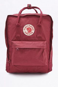 Shop Fjallraven Kanken Classic Plum Backpack at Urban Outfitters today. We carry all the latest styles, colours and brands for you to choose from right here. Urban Outfitters, Prune, Classic Mini, Kanken Backpack, Cool Stuff, Stuff To Buy, Abs, Just For You, Boards