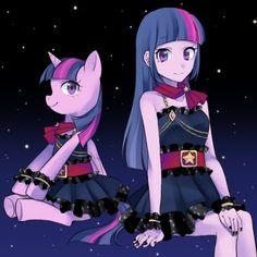 Princesa Twilight Sparkle, Some Image, Equestria Girls, Artist Names, My Little Pony, Nerd, Cartoon, Cute, Anime