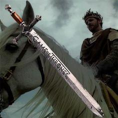 Game of Thrones Antique Silver Sword Necklace