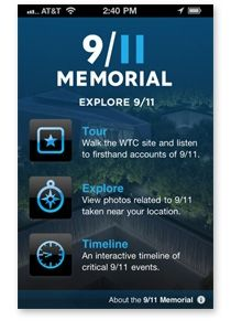 Get the 9/11 Memorial App !
