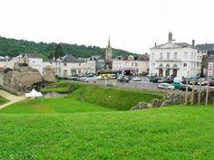 Lillebonne, Normandy - Roman ampitheatre