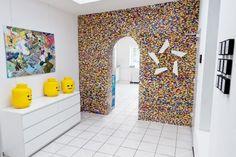 creatief met muur