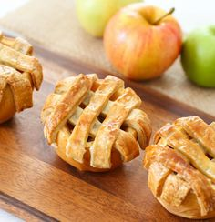 Apple Pies Baked in Apples Recipe on Yummly