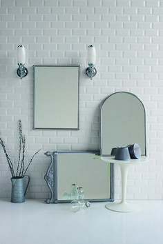 Burlington Mirrors Add Intricate Detail And Increase The Period Feel Of Your Bathroom From Bathrooms