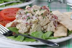 Picnic Potato Chicken Salad | MrFood.com