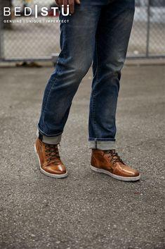 32 Best MEN'S Sneakers images | Sneakers, Leather, Men's