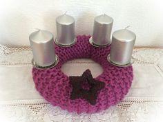 Stimmungsvoller Adventskranz von Made-by-Gabi auf DaWanda.com