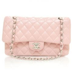 a1ec5d6278 This is an authentic CHANEL Caviar Medium Double Flap in Pink SHW. This  medium classic