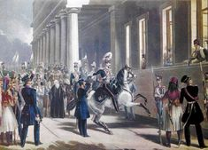The 3 September 1843 Revolution (Greek: Επανάσταση της 3ης Σεπτεμβρίου 1843, NS 13 September), was an uprising by the Greek Army in Athens, supported by large sections of the people, against the autocratic rule of King Otto. The rebels, led by veterans of the Greek War of Independence, demanded the granting of a constitution and the departure of the Bavarian officials that dominated the government. The revolution succeeded, ushering the period of constitutional monarchy in Greece.