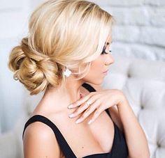 Cute hair for the wedding