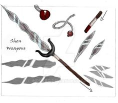 Lord Shen's really awesome weapons!!!