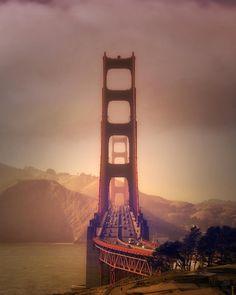 Golden Gate Bridge by Vincent James Photography #sanfrancisco #sf #bayarea #alwayssf #goldengatebridge #goldengate #alcatraz #california