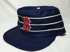 1e9354bb38f Vintage MLB Boston Red Sox RETRO Snapback Adjustable Baseball Cap Hat  1980 s NOS