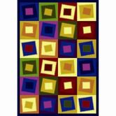 Found it at Wayfair - Whimsy Square Off Balance Kids Rug