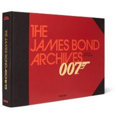 TaschenThe James Bond Archives Hardcover Book|MR PORTER