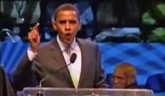"""MUST WATCH!! """"In a heated 2007 speech, a barely-recognizable Obama lavishes praise on Rev. Wright... says feds 'don't care' about black New Orleans... claims gov't spends too much on suburbs, not 'our neighborhoods'."""" - THIS IS THE REAL OBAMA!  A HATEFUL RACIST! THIS WAS JUST FOUND A MUST SEE!!!"""