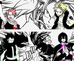 Day 26 ~ Best anime fight: Natsu & Gajeel vs Sting & Rogue. This fight scene was epic as the dragon slayers finally got to battle it out. It is currently one of my favourite fight scenes in Fairy tail <3