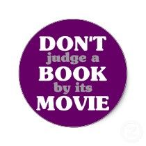 Don't Judge a Book by its Movie stickers by ObsessionDesign