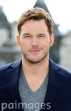 Chris Pratt attending a photocall for new film Guardians Of The Galaxy.