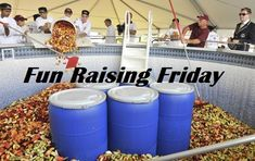 Fun Raising Friday - Ten more fun fundraising event ideas including a world record attempt for largest fruit salad.