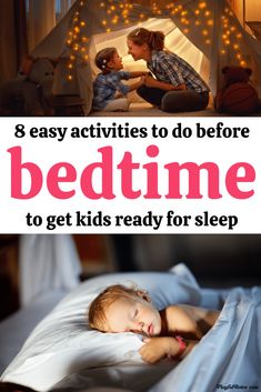 If you are dealing with power struggles at bedtime, these 8 easy activities will help kids relax and prepare for bedtime in a peaceful way!  - Bedtime tips for kids | ParentingTips Peaceful Parenting, Gentle Parenting, Parenting Tips, Kids Behavior, Parenting Toddlers, Help Kids, Kids Sleep, Bedtime, Relax
