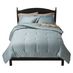 Fieldcrest® Luxury Icon Comforter Set - Blue  $120 King