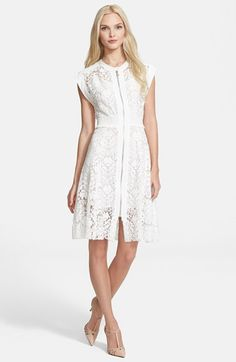 Little White Lace Dress | Dress for the Wedding