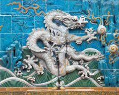 Liu Bolin @ the wall of 9 dragons, forbidden city.