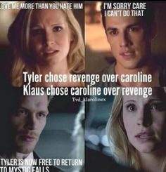 Klaroline <3 I don't care if they write her out of TVD if she goes on The Originals to be with Klaus!