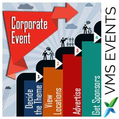 Steps for Corporate Event Planning   #VMSEvents