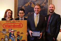 Senator Flake Authors the influential Waste Book, which this year documented 50 troubling examples of outrageous and bizarre federal spending including projects forcing hamsters to fight and running fish on treadmills. Cosponsored the Senate chemical testing reform bill that was signed into law and is designed to prevent expensive, slow and unnecessary tests on millions of animals by EPA and others