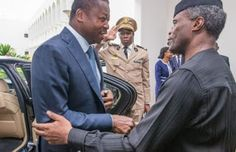 Gistpluse.com | 24/7 Updates: Osinbajo Receives New ECOWAS Chairman In Aso Rock