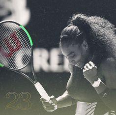 21e35a86e9f Serena Williams wins her 23rd Grand Slam Title Venus And Serena Williams,  Play Tennis,