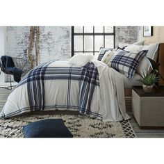 Image of UGG® Dakota Plaid Cotton Flannel Duvet Cover. Bed Bath & Beyond. Plaid Bedding, Duvet Bedding, King Duvet, Queen Duvet, Bedding Shop, Comforter Sets, Main Image, Flannel Duvet Cover, Hotel Collection Bedding