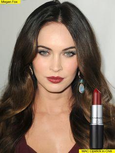 Megan Fox Lipstick — Sizzled In Wine-MAC in Chili