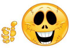 Facebook Skeleton Smiley
