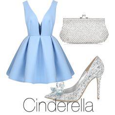Cinderella by gemmau on Polyvore featuring polyvore fashion style Jimmy Choo Monsoon