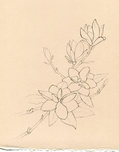 southern magnolia tattoo then add a humming bird and its the prefect mississippi tattoo