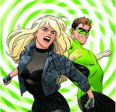 Black Canary and Green Lantern