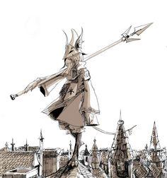 Final Fantasy IX - Freya Crescent