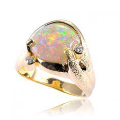 Custom made opal jewellery | Opals Down Under #opalsaustralia